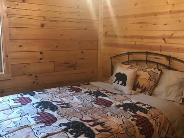 Queen Bedroom - Downstairs bedroom