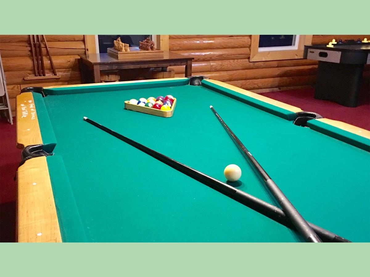 Mountain Lodge - Game room