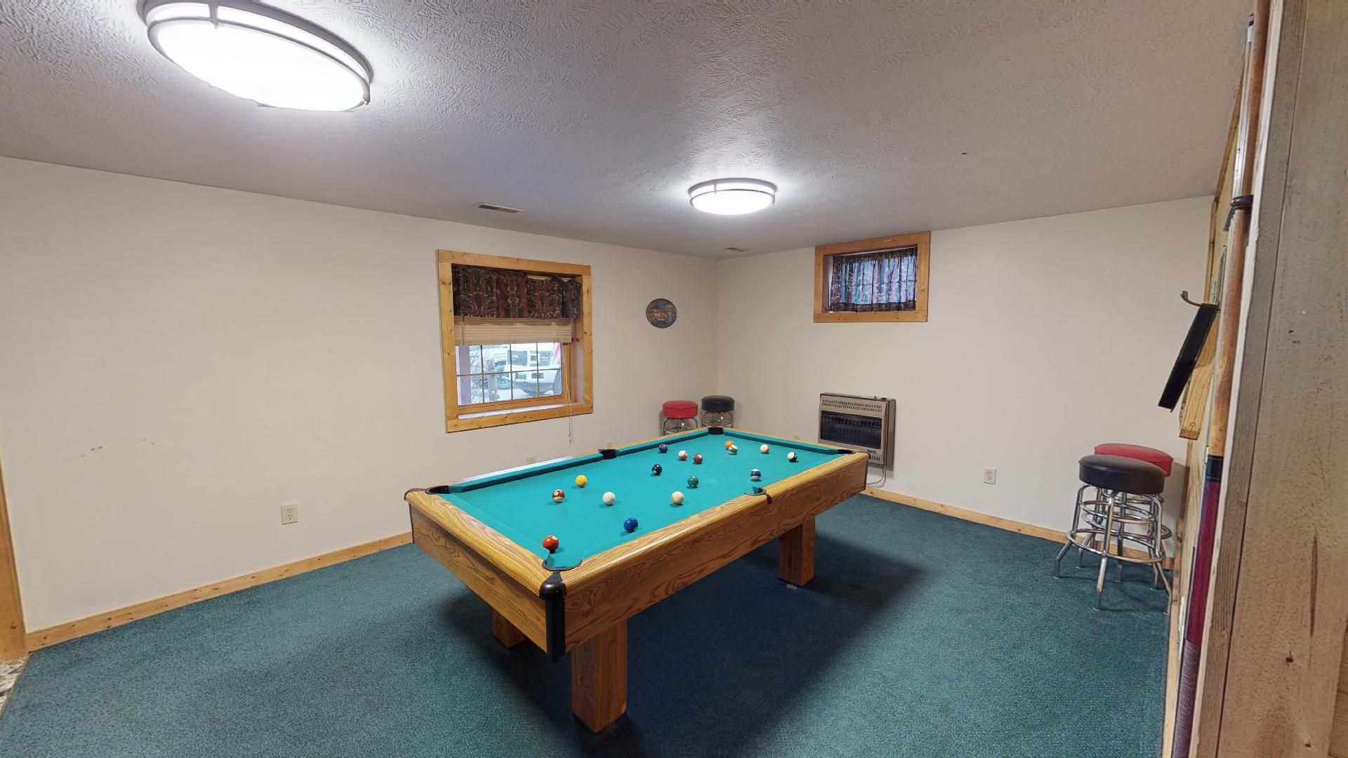 Sunrise Pool/Billiards - Enjoy a game of pool in the lower level of Sunrise.