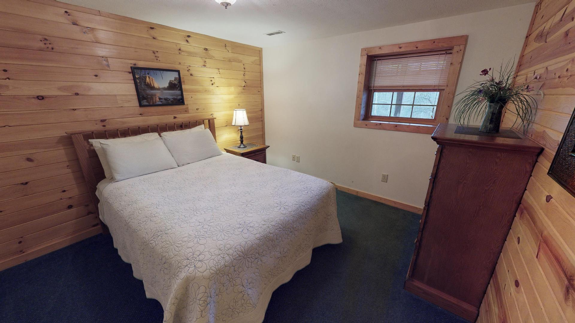 Sunrise Queen Bedroom 3 - Queen bedroom located on lower level