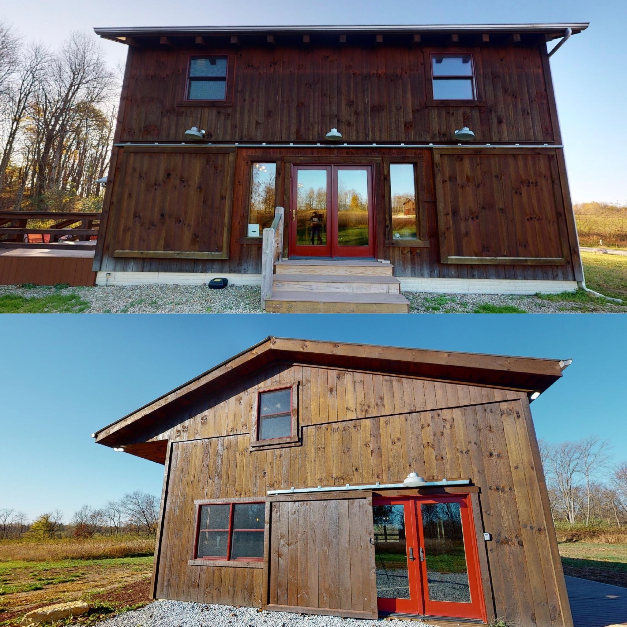 The Barn  Stable at Pumpkin Ridge Resort - Boasting TWO separate cabins renting as one reservation. 95 acres of land, 7 miles of hiking trails, and so much more luxuriousness you