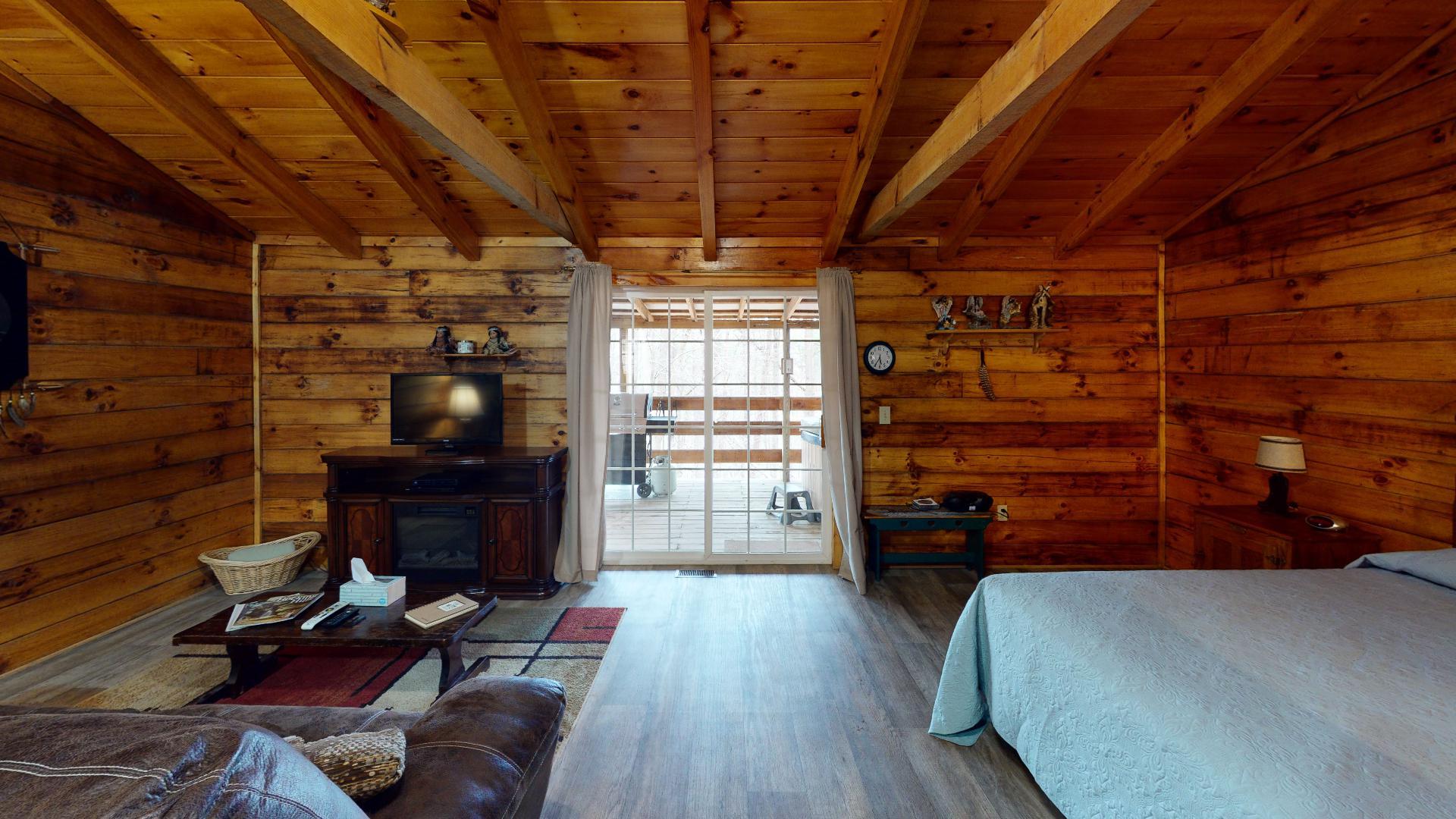 The Lakota Living - Living area.