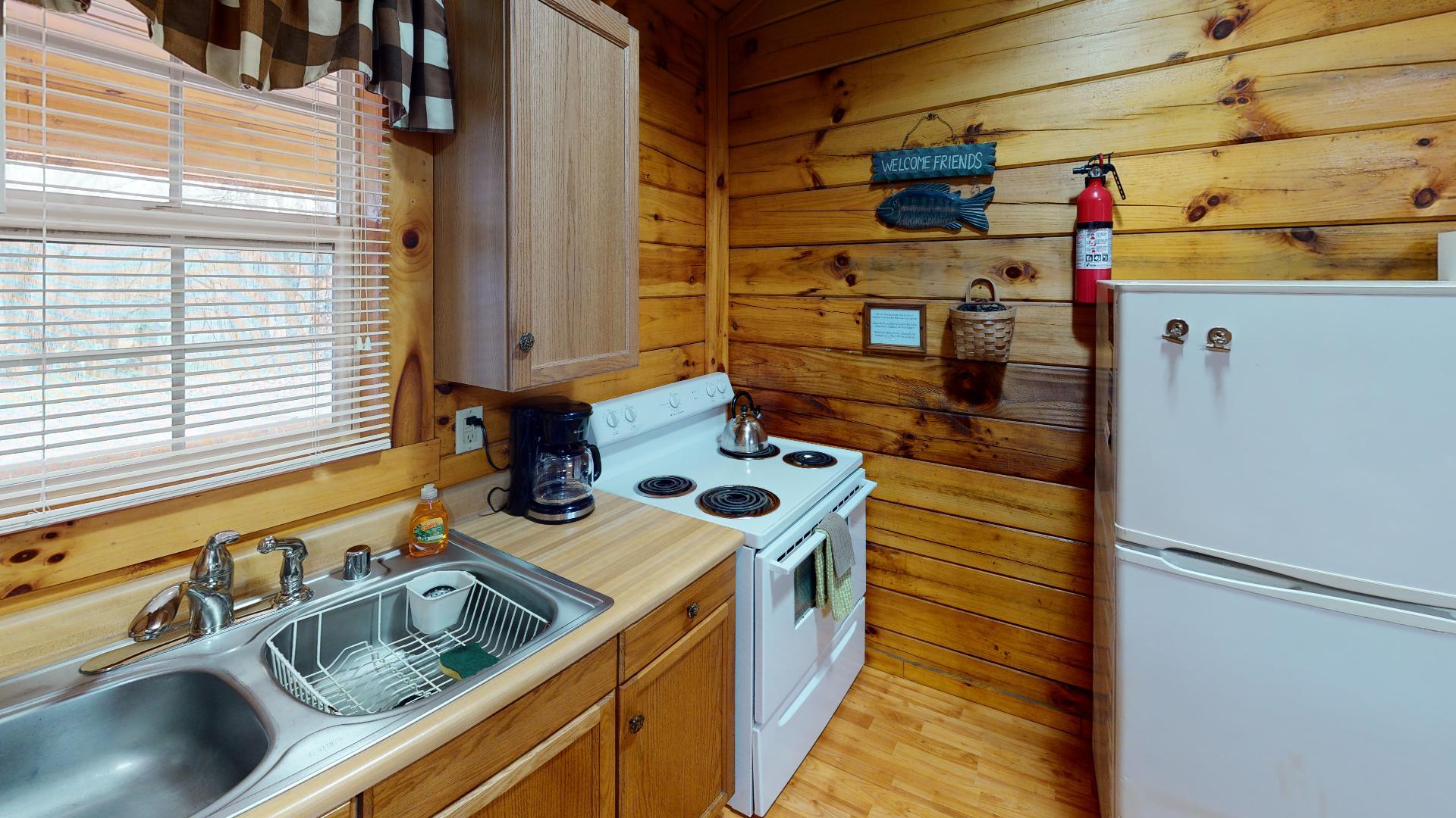 The Landing Kitchen - Kitchen area.