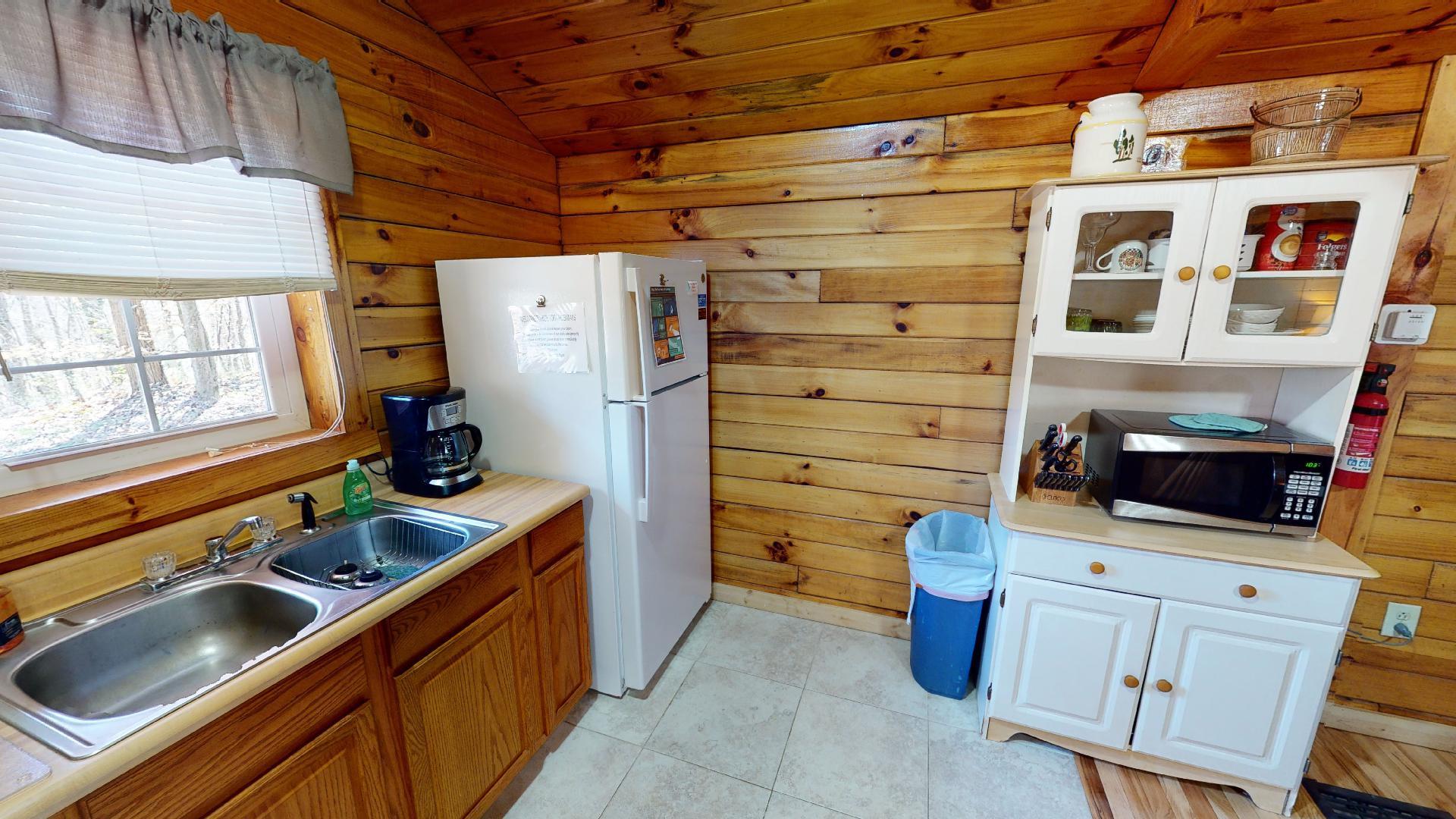 The Overlook - Alternate kitchen view.