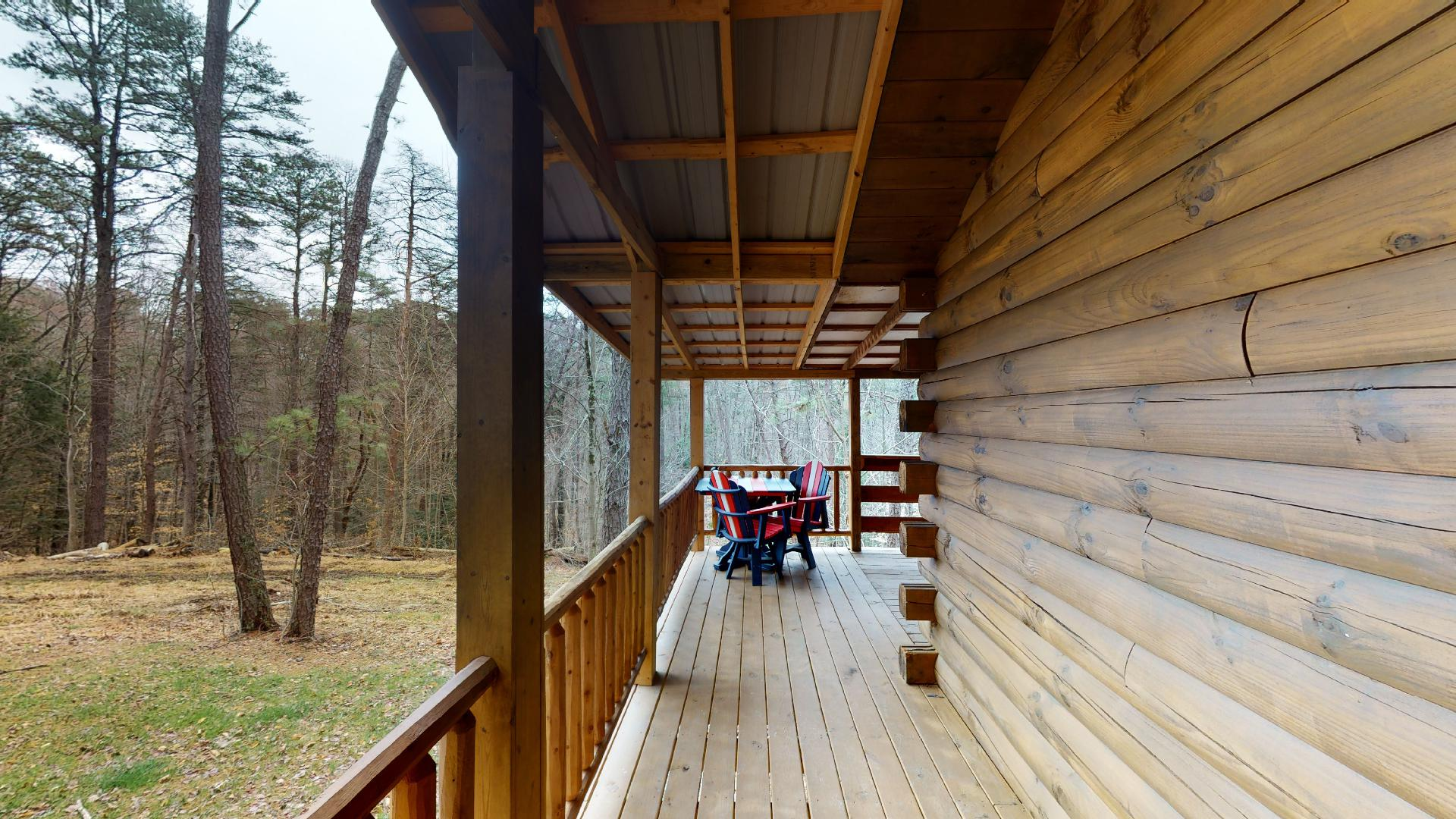 Trail Ridge Porch - Covered porch view.